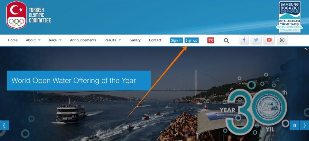 регистрация на сайте турецкого олимпийского комитета