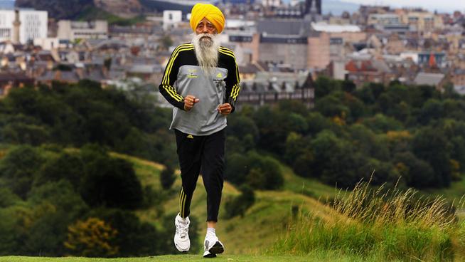 Самый взрослый марафонец в мире. Марафон в 100 лет