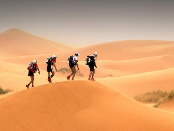 ультрамарафон по пустыне