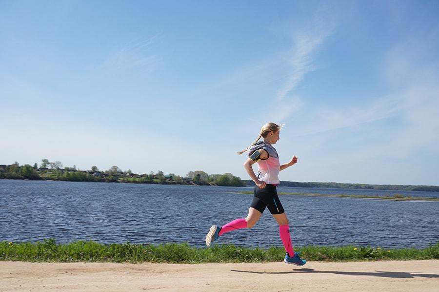 бег для похудения летом