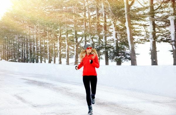 бег для похудения зимой