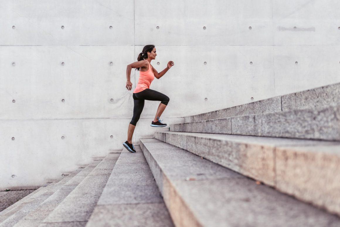 бег по лестнице, чтобы похудеть