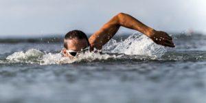 как ориентироваться при плавании в открытой воде. Техника дыхания