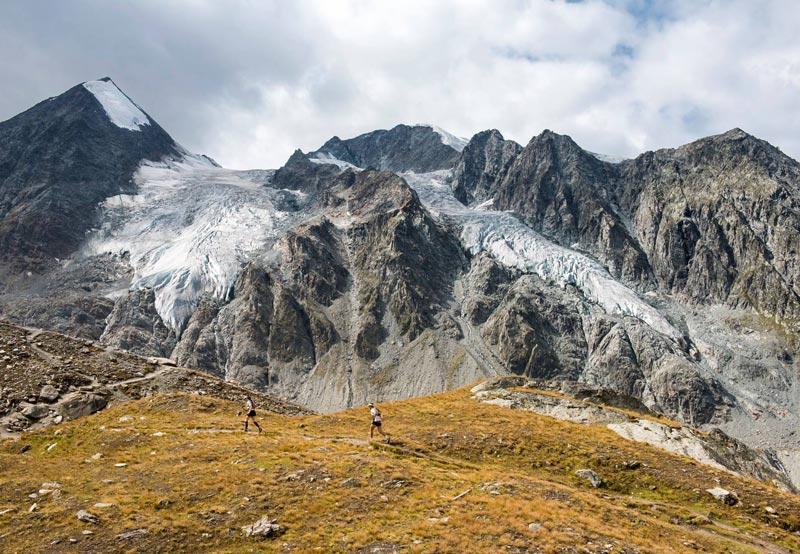 Ультрамарафон в швейцарских альпах
