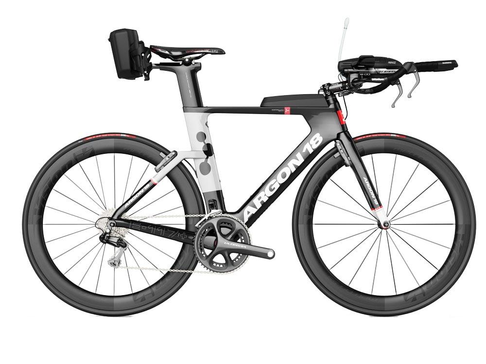 велосипед для триатлона Argon 18 E-117+ Ultegra Di2