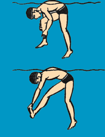 как бороться с судорогой в бассейне