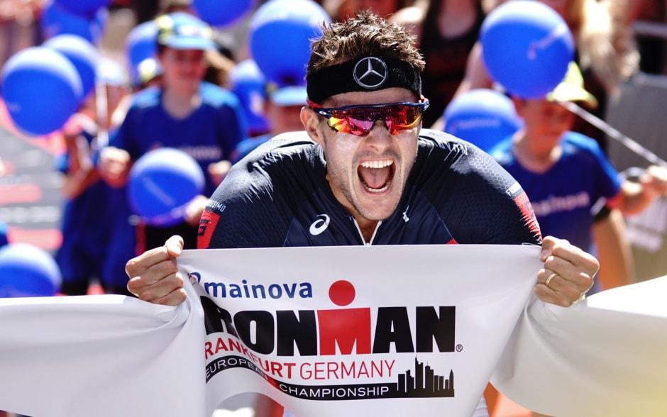 Frodeno финиш во Франкфурте 2018