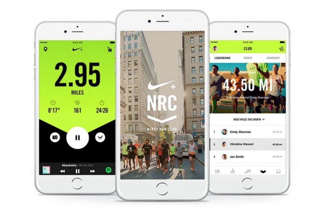 Nike + приложение для бега