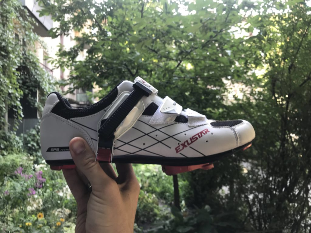 Вело туфли Exustar
