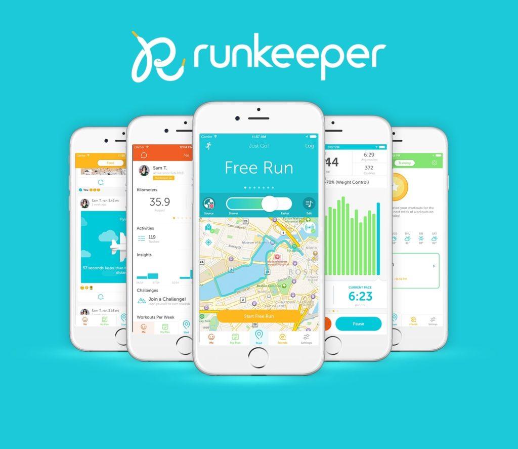 runkeeper приложение для бега