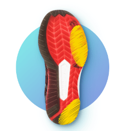 износ обуви гипопронатора