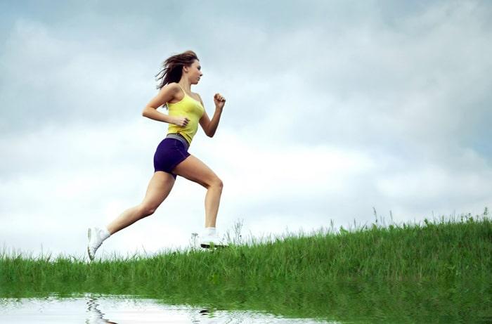 бег на свежем воздухе