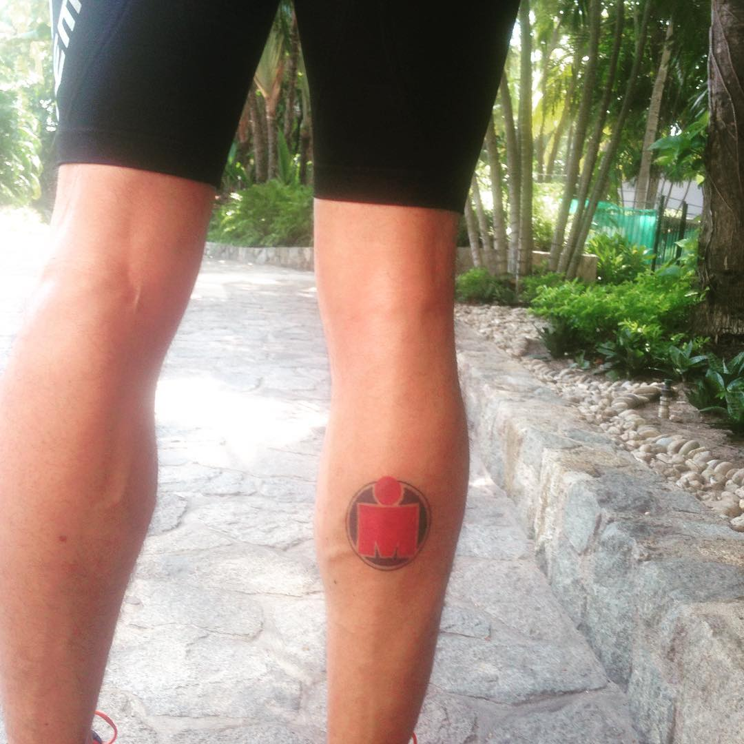 татуировка ironman