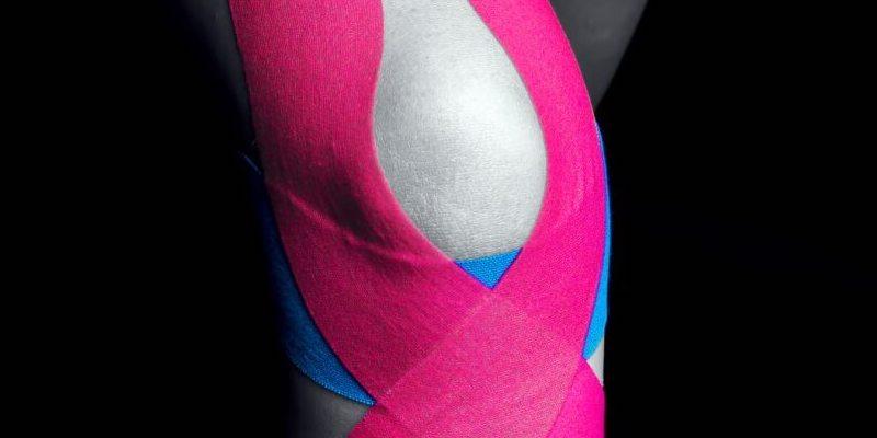 тейпирование колена при разрыве связок