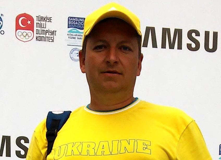 Максим Овдиенко финишер заплыва через Босфор