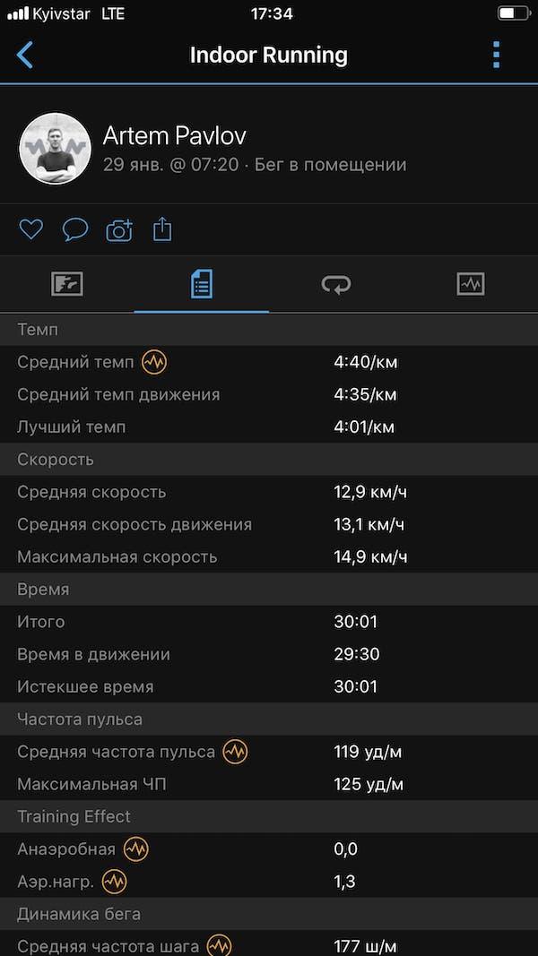 Garmin все 29.01 нагрудный датчик ЧСС