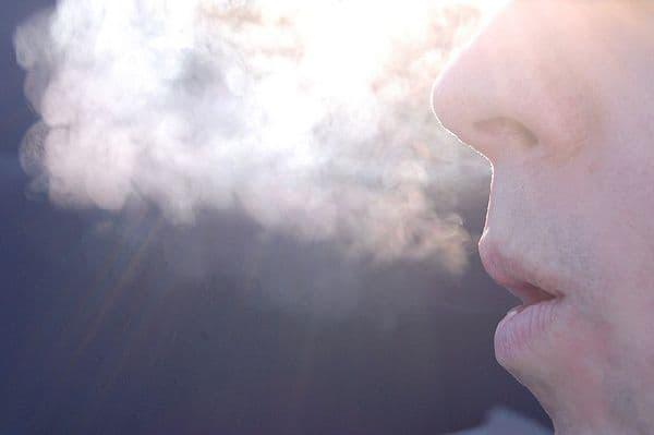 как дышать при беге зимой