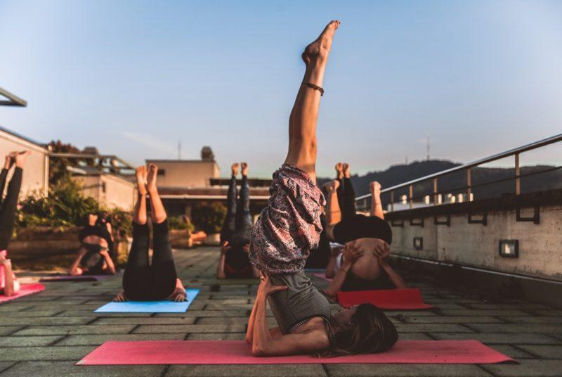 йога для бегунов