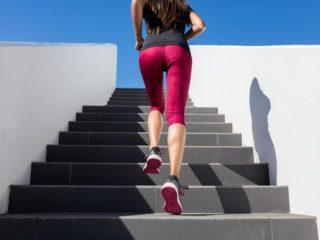 бег по ступенькам