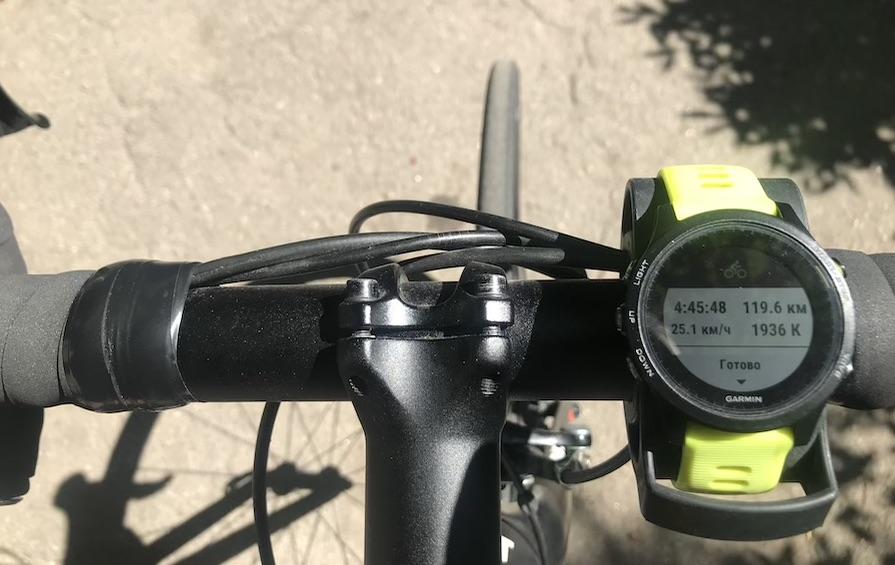 Вело 120 км. ПОдготовка к ironman