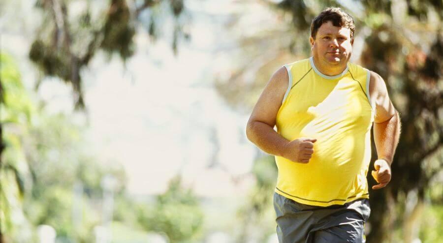 бег с лишним весом