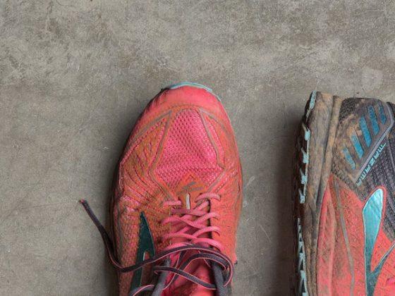 грязные кросовки