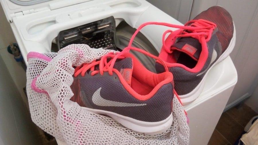 стирка кросовок в машинке